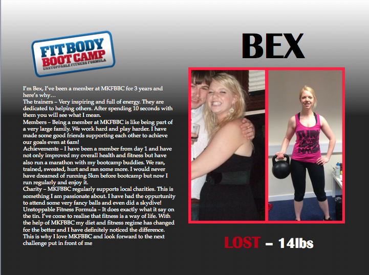 bex before and after