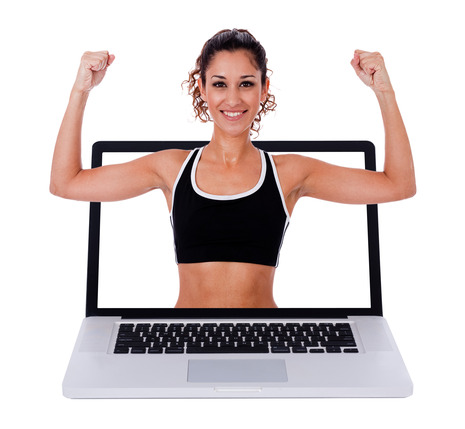 Online fitness trainer for weight loss